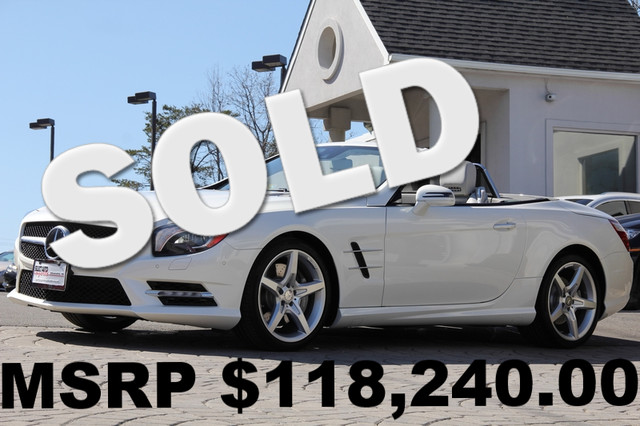 2013 Mercedes SL-Class SL550 2dr Convertible Anti-Theft Convertible Sunroof AC Cruise Power Lo