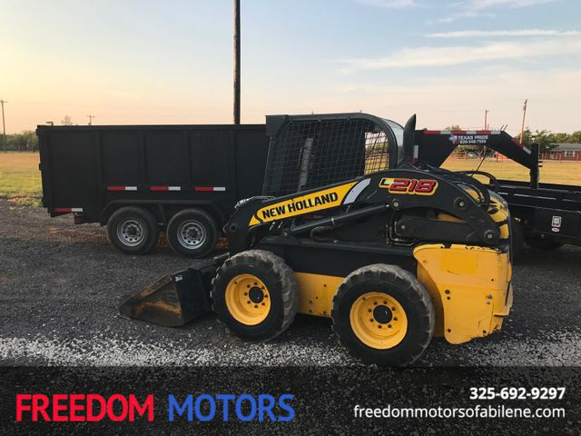 2013 New Holland Skid Steer L218  | Abilene, Texas | Freedom Motors  in Abilene Texas