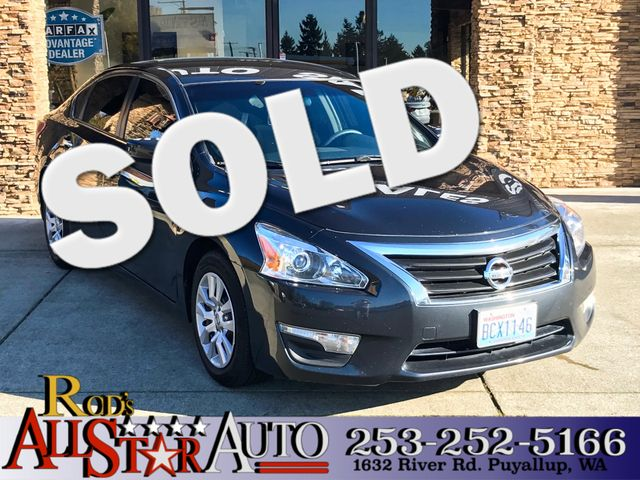 2013 Nissan Altima 25 S The CARFAX Buy Back Guarantee that comes with this vehicle means that you