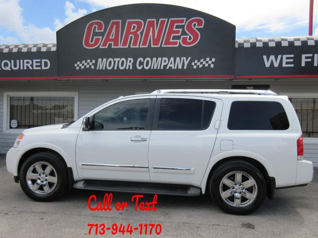 2013 Nissan Armada, PRICE SHOWN IS ASKING DOWN PAYMENT south houston, TX 0