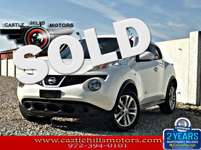 2013 Nissan JUKE SV - Sunroof, Rockford Fosgate Stereo, Backup Cam | Lewisville, Texas | Castle Hills Motors in Lewisville Texas