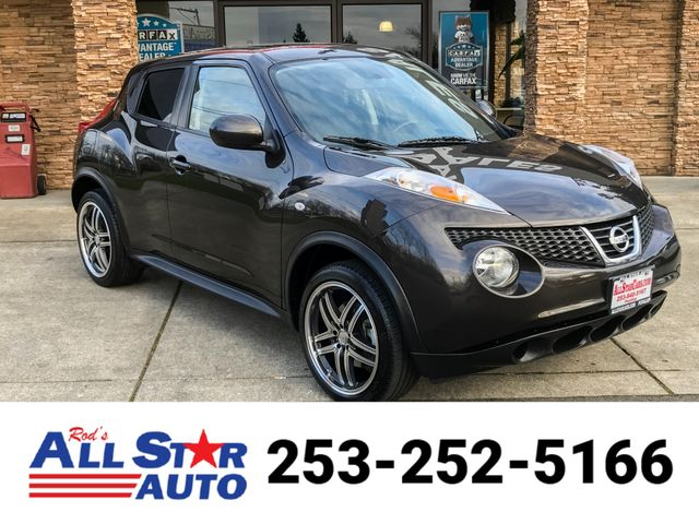 2013 Nissan JUKE SV AWD The CARFAX Buy Back Guarantee that comes with this vehicle means that you