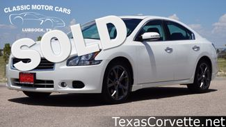 2013 Nissan Maxima in Lubbock Texas