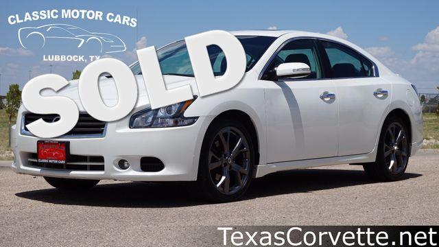 2013 Nissan Maxima SV Sport | Lubbock, Texas | Classic Motor Cars