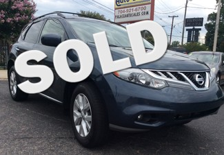 2013 Nissan Murano SL CHARLOTTE, North Carolina