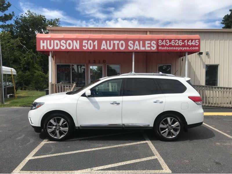 2013 Nissan Pathfinder Platinum | Myrtle Beach, South Carolina | Hudson Auto Sales in Myrtle Beach South Carolina
