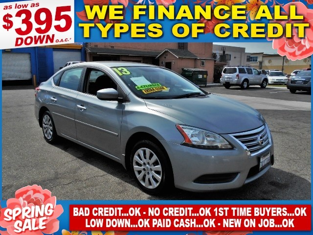 2013 Nissan Sentra S Limited warranty included to assure your worry-free purchase AutoCheck repor