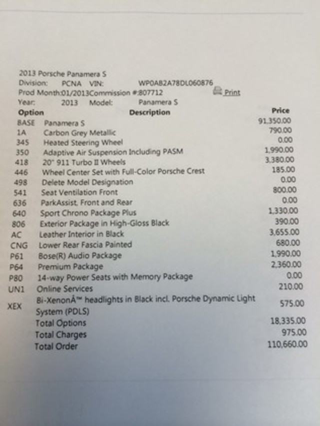 2013 Porsche Panamera S Longwood, FL 26