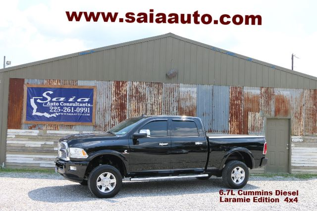 2013 Ram Dodge Crew Cab 2500 Hd 4wd 6.7 Diesel LARAMIE NAVI HTD AC SEATS TOW PKG LOADED TWO OWNER CLEAN CARFAX SERVICED DETAILED READY TO GEAUX | Baton Rouge , Louisiana | Saia Auto Consultants LLC in Baton Rouge  Louisiana