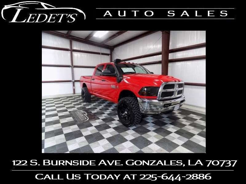 2013 Ram 2500 Tradesman 4WD - Ledet's Auto Sales Gonzales_state_zip in Gonzales Louisiana