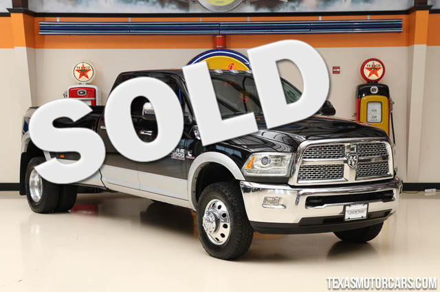 2013 Ram 3500 Laramie This Carfax 1-Owner 2013 Ram 3500 Laramie is in great shape with only 93 02