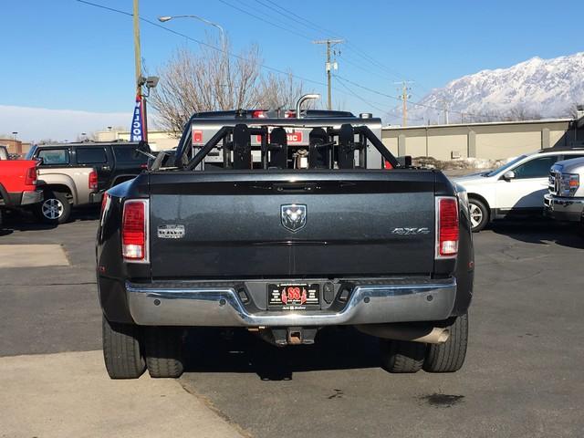 2013 Ram 3500 Laramie Longhorn Ogden, Utah 4
