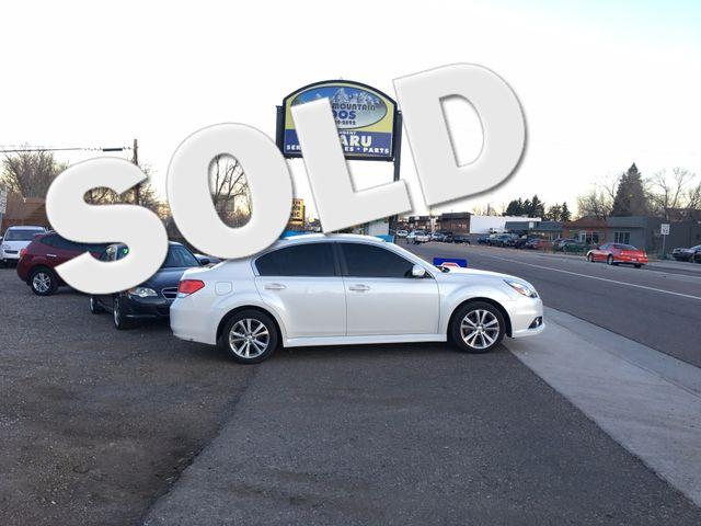 2013 Subaru Legacy 2.5i Limited 30 Day Power train warranty! Golden, Colorado 0