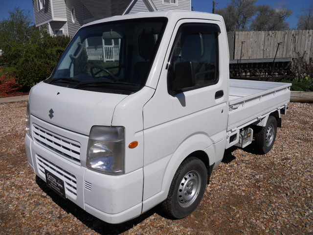 2013 suzuki carry 4x4 mini truck in stock now eaton co white 2013 truck in eaton co. Black Bedroom Furniture Sets. Home Design Ideas