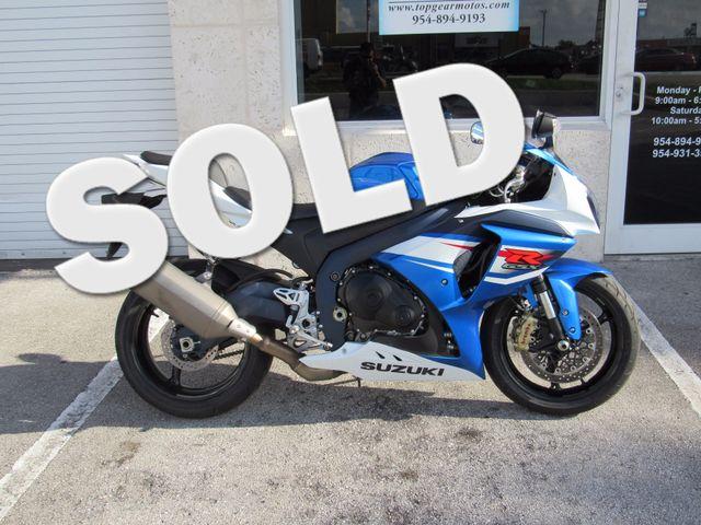 2013 Suzuki GSX-R 1000 Dania Beach, Florida 0