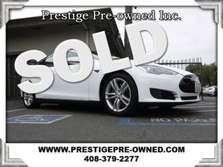 2013 Tesla Model S ((**LOADED NAVIGATION & BACK-UP CAMERA**))  in Campbell CA