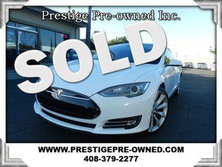 2013 Tesla Model S ((**NAVIGATION & BACK UP CAMERA**))  in Campbell CA