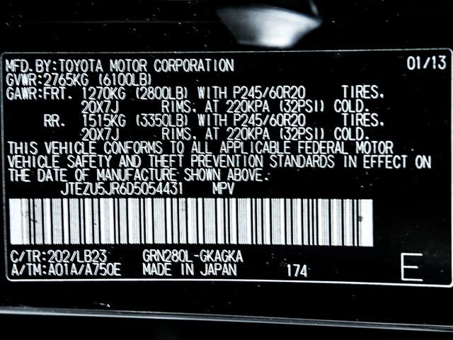2013 Toyota 4Runner Limited Burbank, CA 9