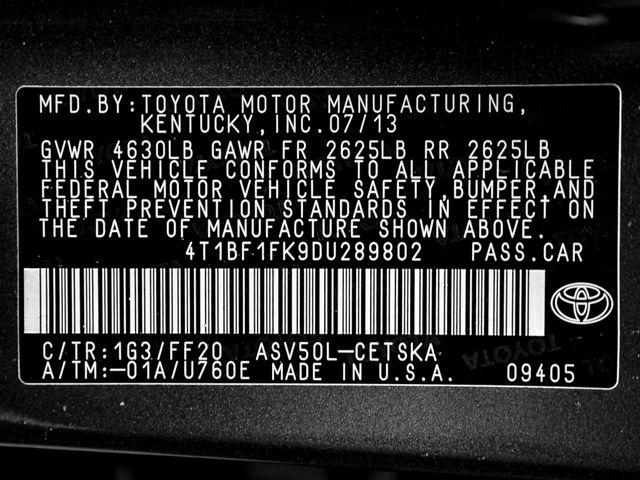 2013 Toyota Camry SE Burbank, CA 23