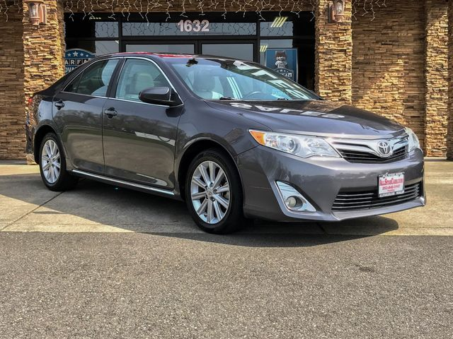 2013 Toyota Camry XLE CARFAX One-Owner Clean CARFAX Gray 2013 Toyota Camry XLE FWD Leather Sun