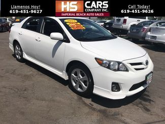 2013 Toyota Corolla S Imperial Beach, California