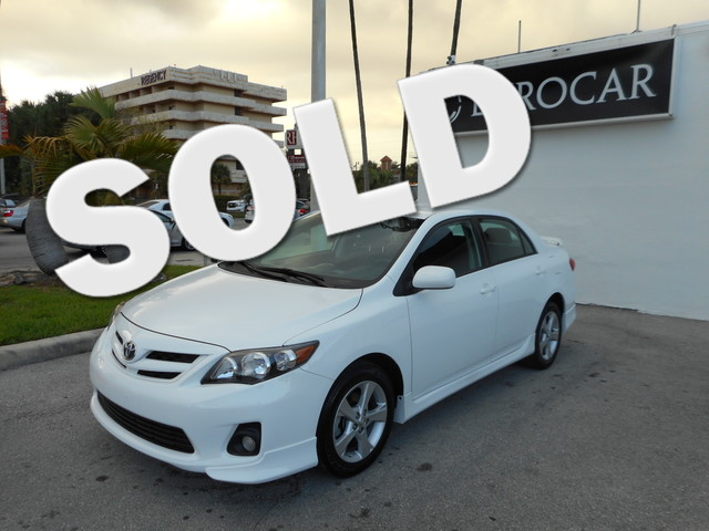 2013 Toyota Corolla S Take advantage of this gorgeous 2013 Toyota Corolla S which has had only 1 OW