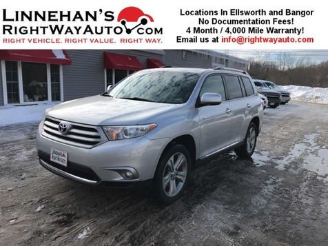 2013 Toyota Highlander Limited in Bangor