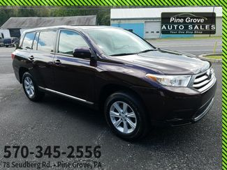 2013 Toyota Highlander in Pine Grove PA