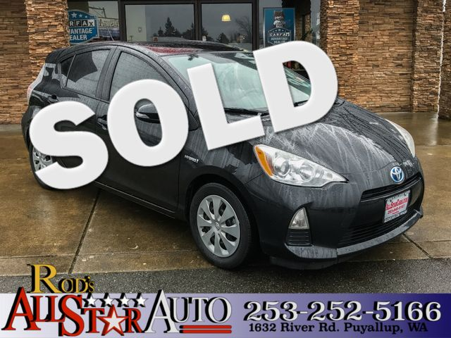 2013 Toyota Prius c Two The CARFAX Buy Back Guarantee that comes with this vehicle means that you