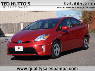 2013 Toyota Prius Pampa, Texas