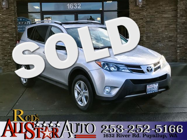 2013 Toyota RAV4 XLE AWD This vehicle is a CarFax certified one-owner used car Pre-owned vehicles