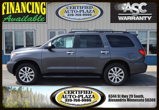2013 Toyota Sequoia Limited 4x4 in  Minnesota