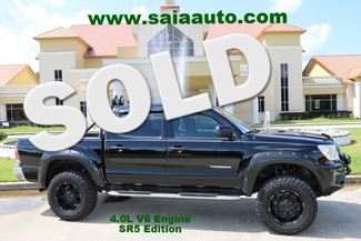 2013 Toyota Tacoma Crew Cab 4wd V6 Auto Sr5 Leather Lifted Rims MTs Fender Flares Tow Pkg in Baton Rouge  Louisiana