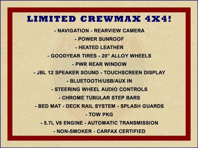 2013 Toyota Tundra LTD CrewMax 4x4 - NAVIGATION - SUNROOF! Mooresville , NC 1