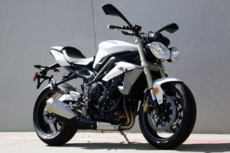 2013 Triumph Street Triple ABS * 1-OWNER * ONLY 880 MILES *Pearl White Plano, Texas