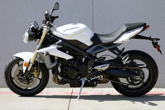 2013 Triumph Street Triple ABS * 1-OWNER * ONLY 880 MILES *Pearl White Plano, Texas 3