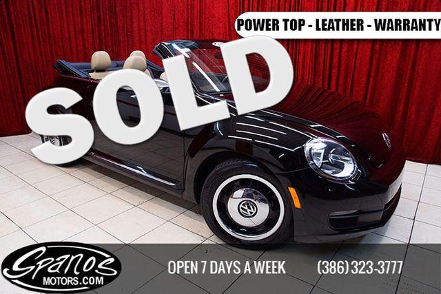 2013 Volkswagen Beetle Convertible 2.5L 50s Edition Daytona Beach, FL 0