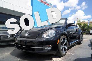 2013 Volkswagen Beetle Convertible 2.0T w/Sound/Nav Hialeah, Florida