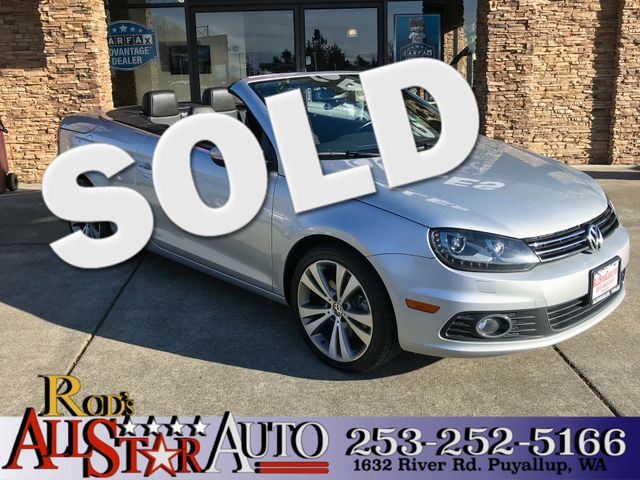 2013 Volkswagen EOS LUX This vehicle is a CarFax certified one-owner used car Pre-owned vehicles