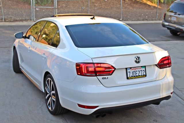 2013 Volkswagen GLI AUTOBAHN 6-SPEED MANUAL 64K MLS LEATHER SUNROOF ALLOY WHLS SERVICE RECORDS Woodland Hills, CA 3