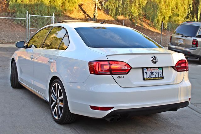 2013 Volkswagen GLI AUTOBAHN 6-SPEED MANUAL 64K MLS LEATHER SUNROOF ALLOY WHLS SERVICE RECORDS Woodland Hills, CA 9
