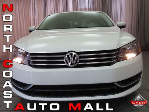 2013 Volkswagen Passat SE w/Sunroof in Akron, OH