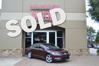 2013 Volkswagen Passat TDI SEL Premium   Dalworthington Gardens, Texas   McAndrew Motors in Arlington, TX Texas