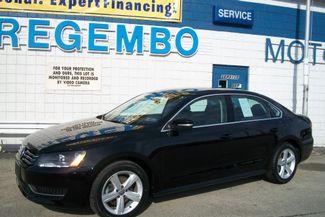 2013 Volkswagen Passat SE w/Sunroof Bentleyville, Pennsylvania 46