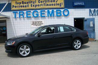 2013 Volkswagen Passat SE w/Sunroof Bentleyville, Pennsylvania 2