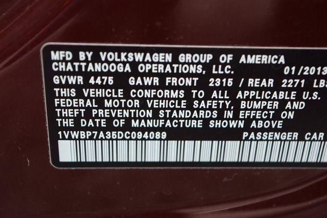 2013 Volkswagen Passat SE w/Sunroof Richmond Hill, New York 32