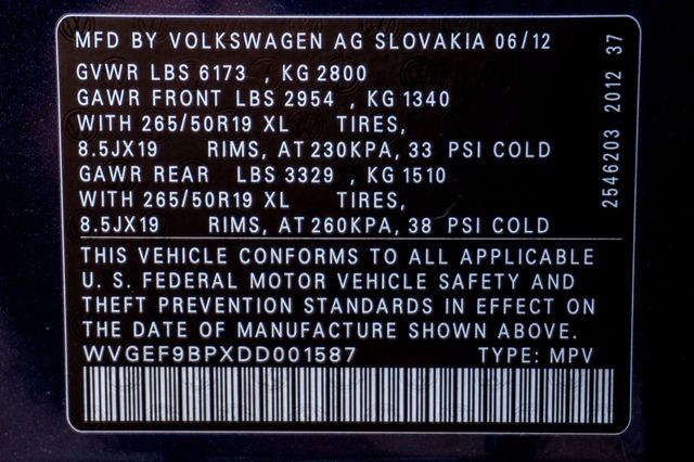 2013 Volkswagen Touareg Lux - Navi - Rear View Camera - Xenon Reseda, CA 43