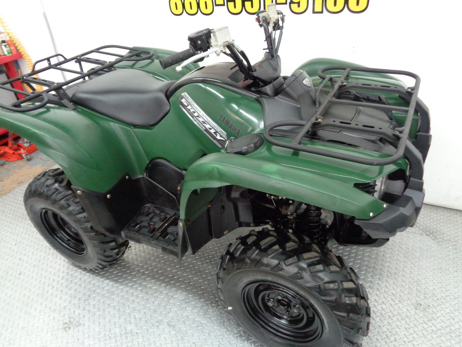 Price for 2013 grizzly 400 autos post for Yamaha grizzly 400