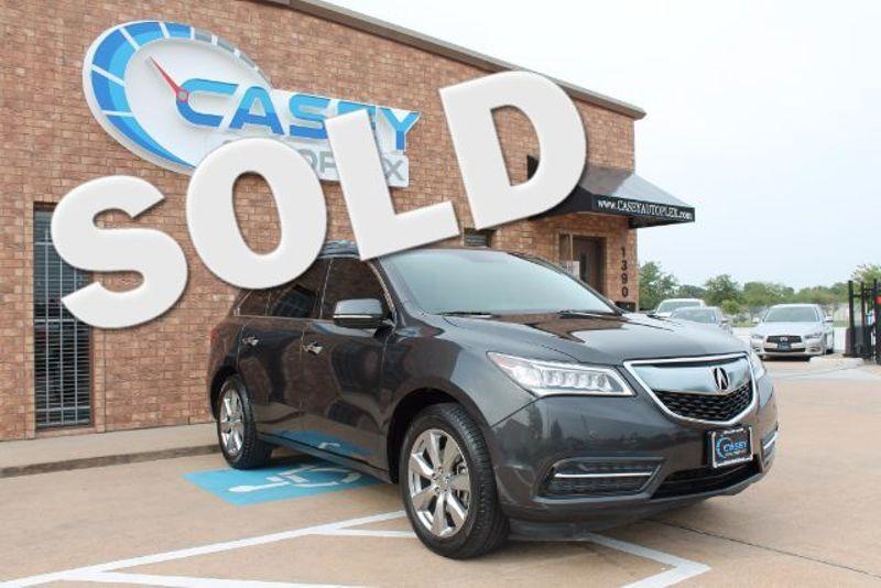 2014 Acura MDX Advance/Entertainment Pkg | League City, TX | Casey Autoplex in League City TX