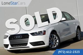 2014 Audi A4 Premium Factory Warranty